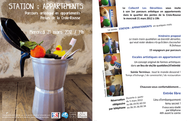 Flyer Station appartements